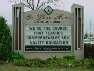 We're the Church That Teaches Comprehensive Sexuality Education