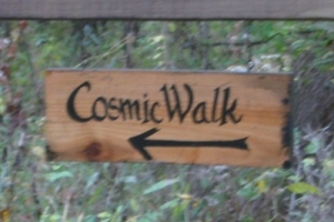 cosmic walk, evolution, cosmos, retreat center