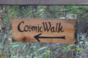cosmic walk, evolution, cosmos, retreat center